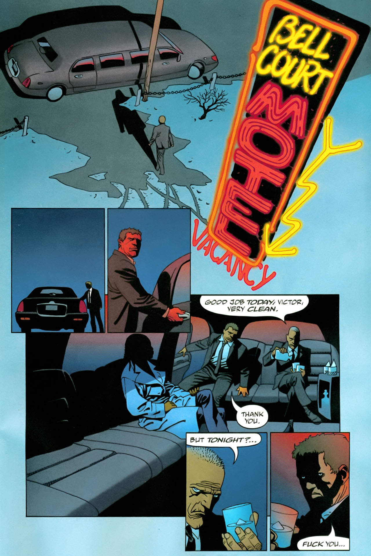 Read online 100 Bullets comic -  Issue #86 - 22