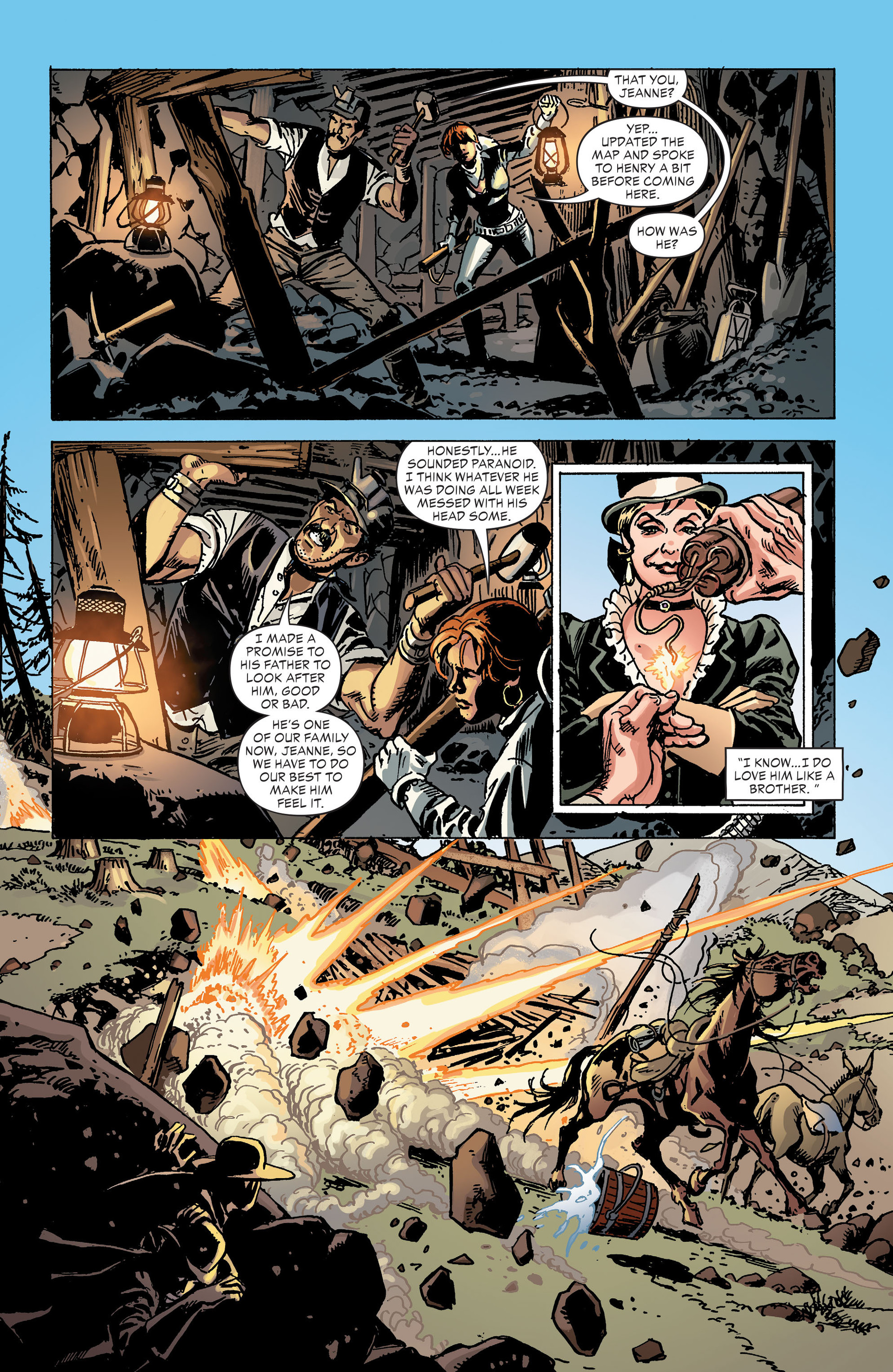 Read online All-Star Western (2011) comic -  Issue #30 - 20