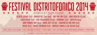 Festival Distritofónico 2014 Bogotá