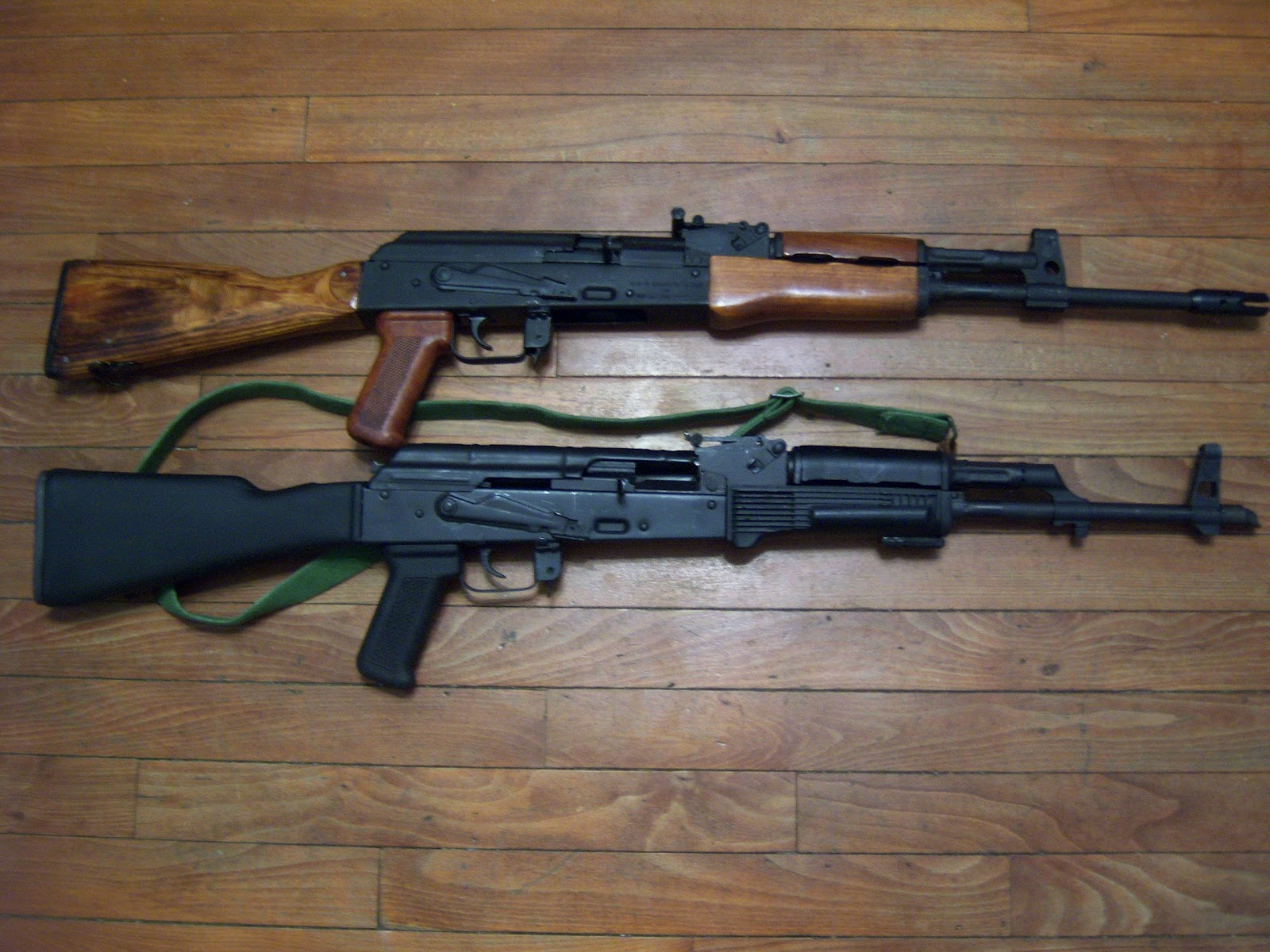 How To Talk About Guns Part 2 >> AK47 Talk: M10-22 and AKT98 Side by Side Comparison