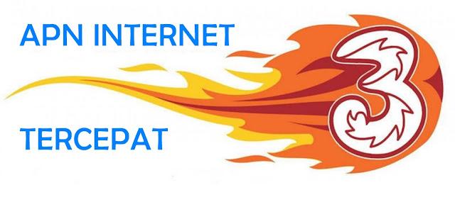 Mempercepat Internet dengan APN Khusus Tri 3 2019