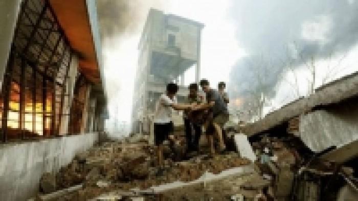 أثناء القداس انفجارات مروعه بكنائس بالفلبين وعدد كبير من الشهداء والمصابين