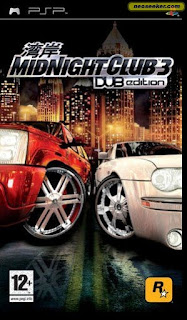 Midnight Club 3 DUB Edition PSP GAME ISO