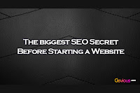 The biggest SEO secret before starting a website