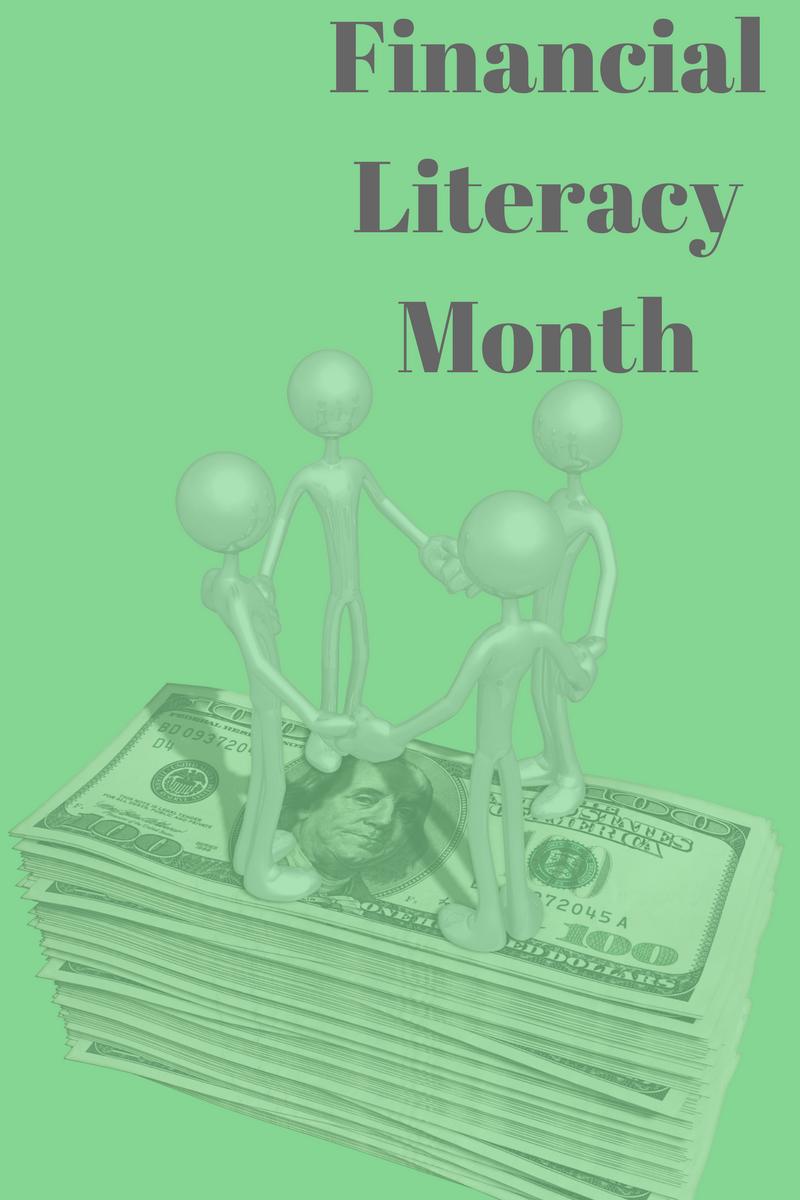 happy financial literacy month - HD800×1200