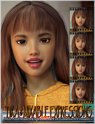 https://www.daz3d.com/mixable-expressions-for-tika-8-and-genesis-8-females