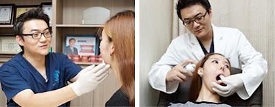 perawatan sendi temporomandibular sebelum operasi dua rahang korea