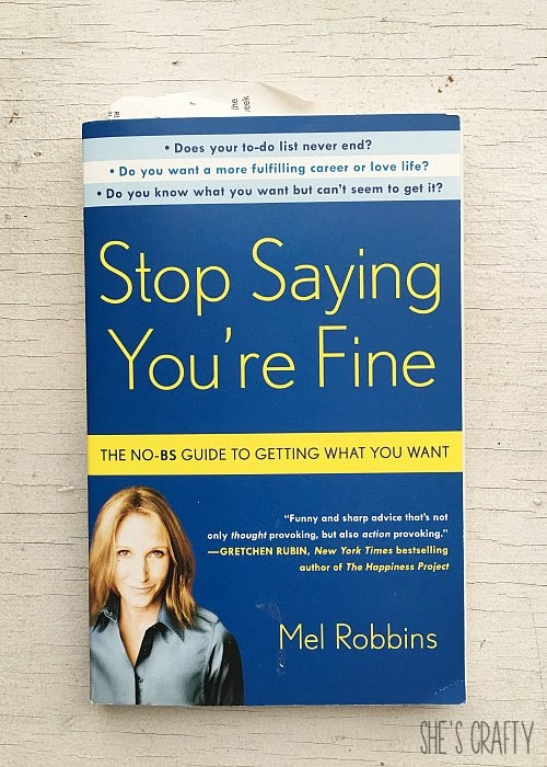 Favorite Self Help Books for Living Your Best Life - Stop Saying You're Fine