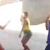 Garota que espancou jovem em frente ao colégio leva golpes de faca pela mãe da vítima espancada  em Ipirá
