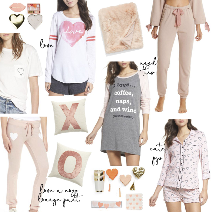 valentine's day loungewear