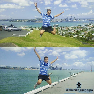 Nischal Gurung taking jumpshot in Devenport, Auckland