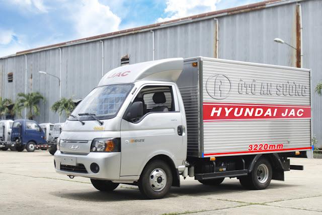 3185b3f3b502545c0d13 Xe tải HYUNDAI JAC HD150 Tải 1490kg Thùng dài 3m2 | Khuyến mãi 100% phí thủ tục.