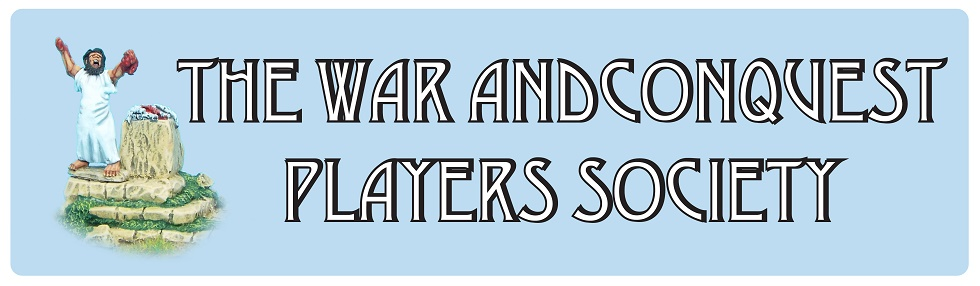 WAR AND CONQUEST PLAYERS SOCIETY