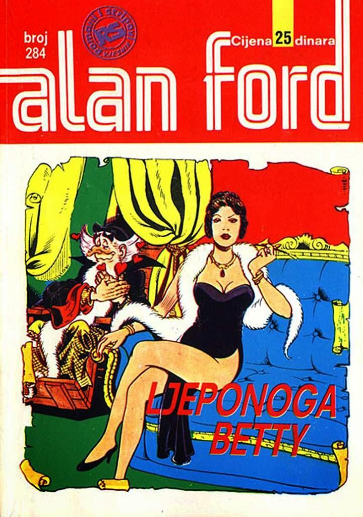 Ljeponoga Betty - Alan Ford