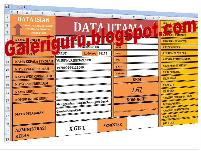 Updatae Perangkat Administrasi Guru K13 Untuk Sd Smp Smk 2016 Download Galeri Guru