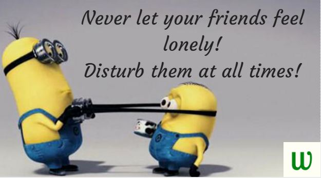 These Despicable Me Minion Quotes Are Perfect For Whats App Or Facebook Or  To Share With A Friend. Enjoy These Hilarious Quotes With Minion Images!
