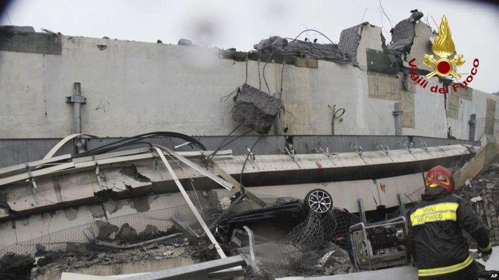La tragedia sorprendió a la turística región de  Italia / VIGILI DEL FUOCO