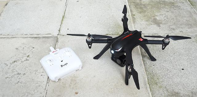 Review MJX Bugs 3 : Drone Serangga Paling Lincah Harga Terjangkau