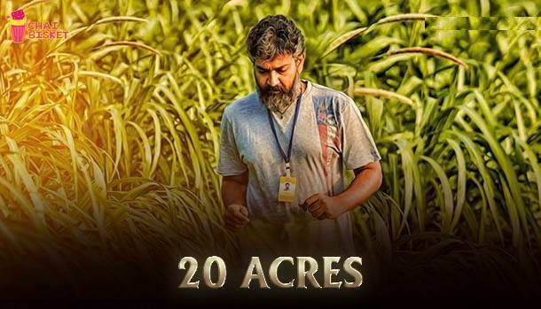 20 acres of maize farm was cultivated just for the shoot in RFC