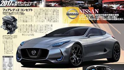 次期フェアレディZ Z35型 フルモデルチェンジ ベストカー 予想画像