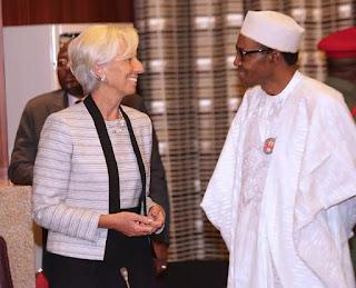 IMF MD, Ms Christine Lagarde and President BUHARII