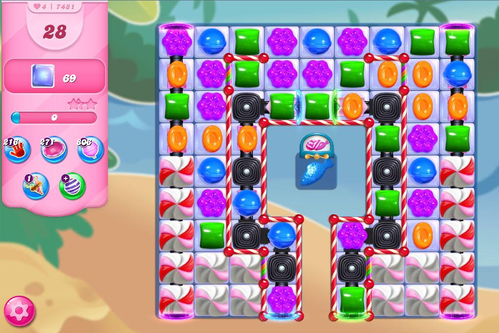 Candy Crush Saga level 7481