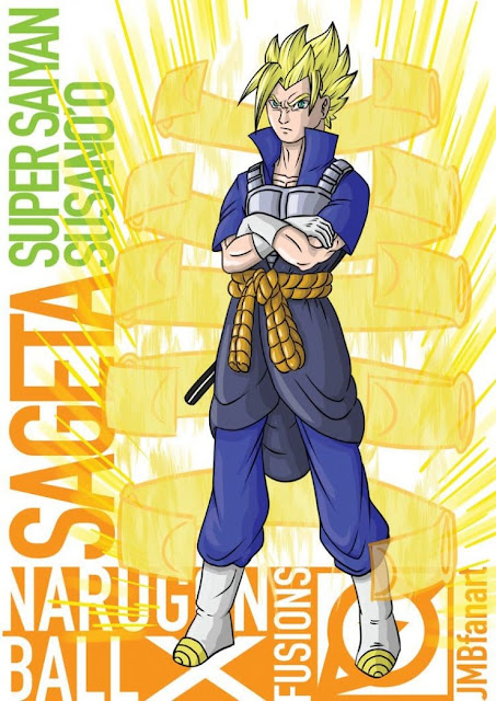 2- Sageta (Sasuke e Vegeta)