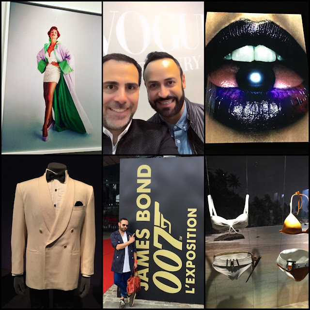 "EUROPE.....Museum Visits London and Paris Part One: ""Vogue 100: A Century of Style"" and  ""James Bond 007 L'Exposition"""