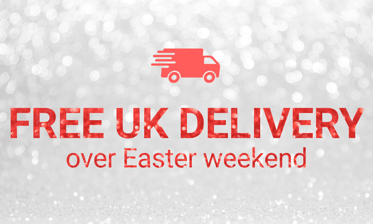 Free UK Delivery over Easter Weekend at Craftstash!