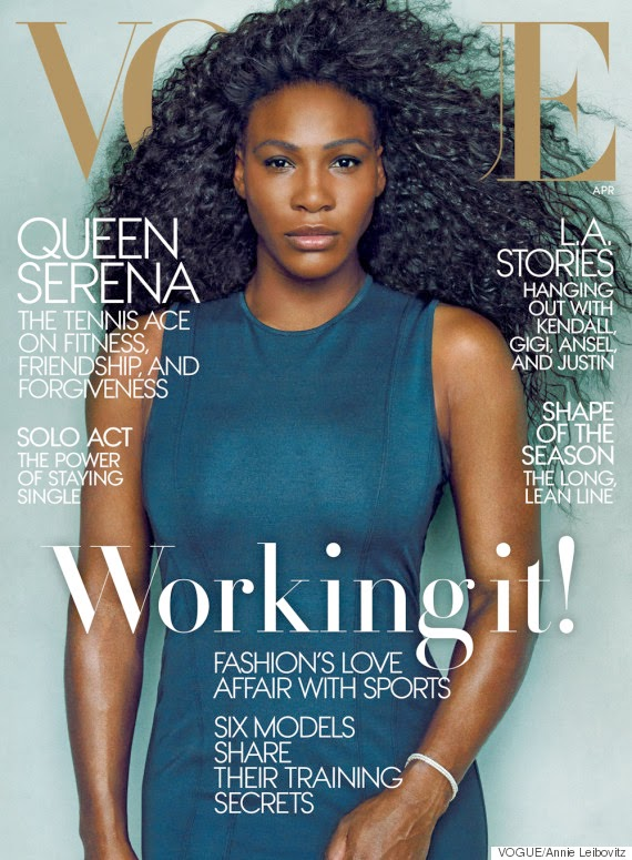 Serena Williams on the Cover of Vogue April 2015