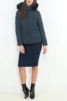 Geaca Zara Dama Green Outerwear