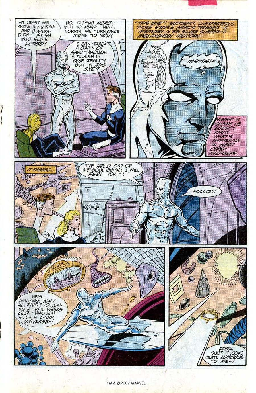 Read online Silver Surfer (1987) comic -  Issue #15 - 19