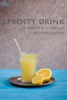 Sprite wódka drink