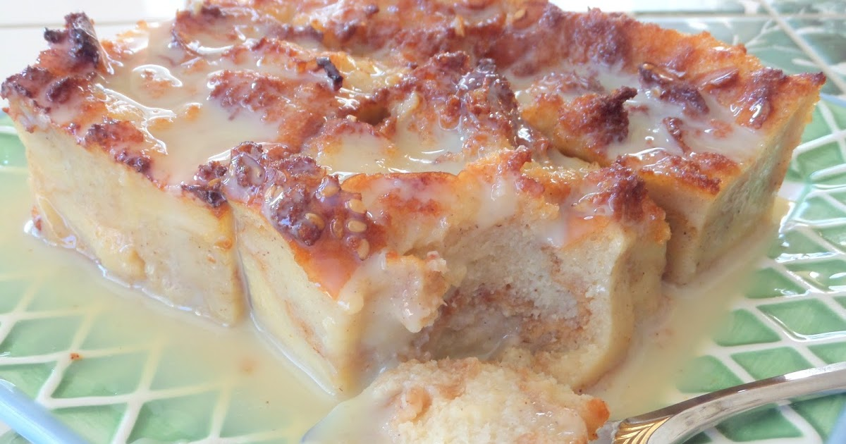 Bread Pudding with Vanilla Cream Sauce ~ best recipes & cooking