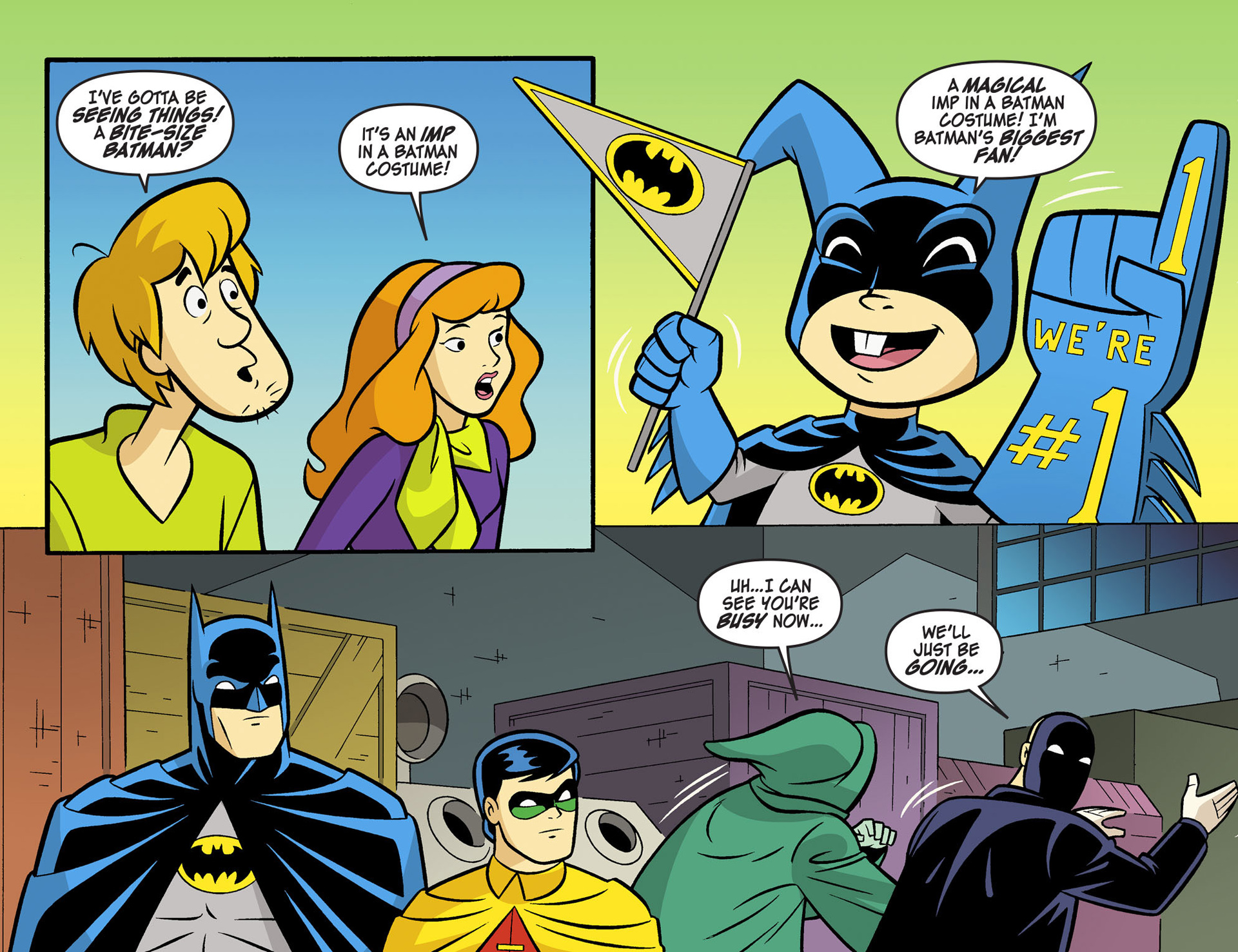 Read online Scooby-Doo! Team-Up comic -  Issue #5 - 9