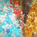 Kemeriahan Pohon Natal Unik di Saumlaki