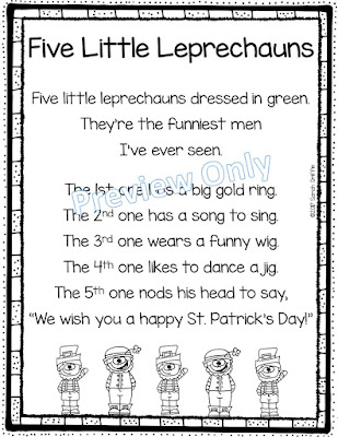 https://www.teacherspayteachers.com/Product/Five-Little-Leprechauns-St-Patricks-Day-Poem-for-Kids-3009803