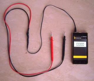 Check rangkaian elektronika dengan continuity tester berbasis Android Phone
