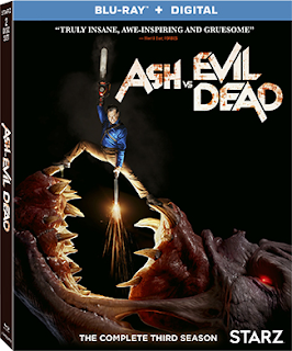 Ash vs Evil Dead Season 3 on Blu-ray 8/21