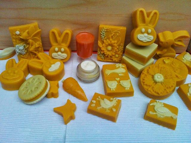 Jabones artesanales de Zanahoria