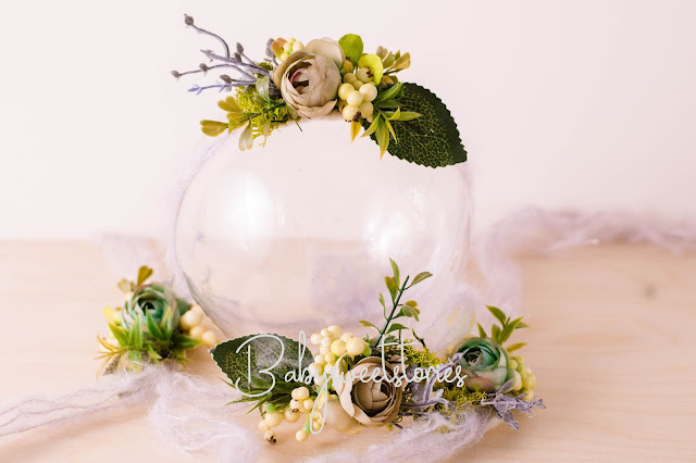 Newborn Headband,Flower Headband,Newborn photographer, prop vendor,  Newborn Tieback, Photo Prop,  Headwrap, Halo