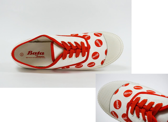 Bata Tennis - Coca Cola in Red Bottle Caps