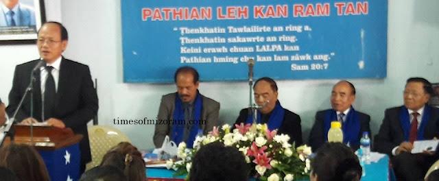 Mizoram MLA Lalzirliana joins MNF