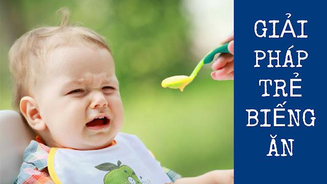 Trẻ Biếng Ăn, Lười Ăn Thì Phải Làm Sao?