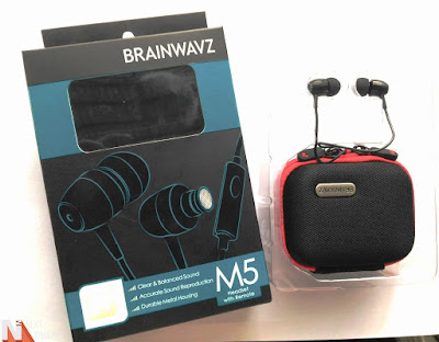Brainwavz M5 IEM Earphone Review