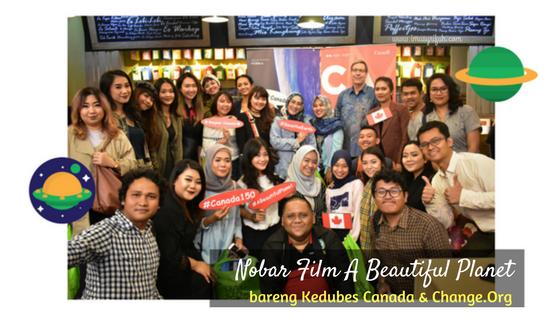 Nonton Bareng Film A Beautiful Planet Bersama Kedubes Canada