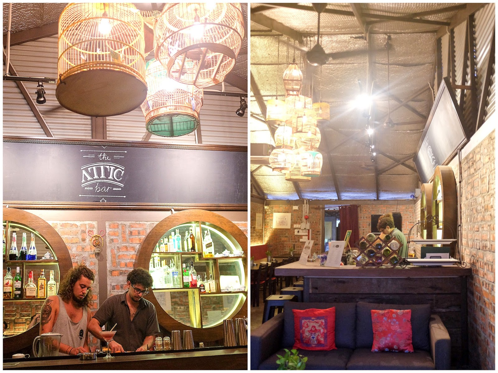 Eat Drink Kl The Attic Bar Travel Hub Guesthouse