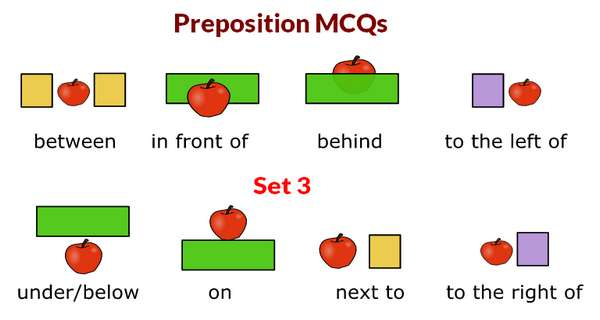 English Preposition MCQs With Answers Set 3