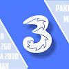 Cara Daftar Paket Tri Murah 2.5 GB dan 2 GB Perhari Cuma 2000 Tanpa Dial