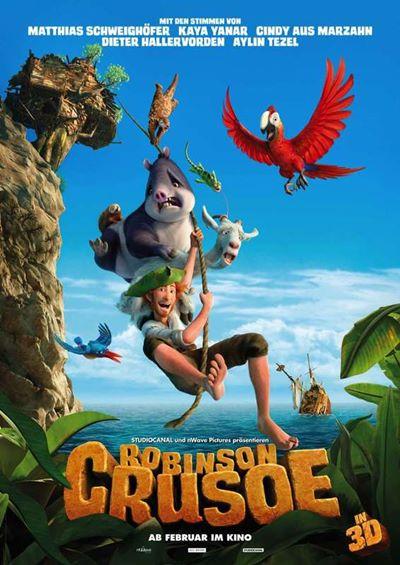 Robinson Crusoe: The Wild Life 2016 Full Movie